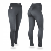 Kansas City Chiefs Charcoal Leggings