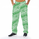 Kelly Green Zebra Pant