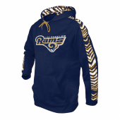 Los Angeles Rams Zebra Hoodies