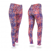 New BlueRedWhite Post Pattern Legging