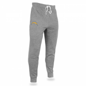 Mens Los Angeles Chargers Heather Gray Jogger