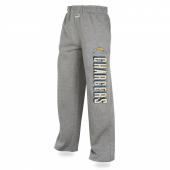 Los Angeles Chargers Heather Gray Sweatpants