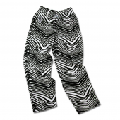 Chicago White Sox BlackMetallic Silver Zebra Pant