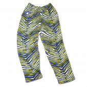 Milwaukee Brewers Royal BlueGold Zebra Pant With Glove Logo