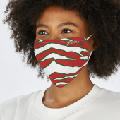 2 PACK ADULT SIZE GREENRED ZEBRA MASK ONE SIZE