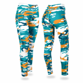 Miami Dolphins Camo Leggings