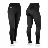 Miami Dolphins Black Leggings