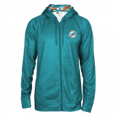Miami Dolphins Full Zipper Hoodie