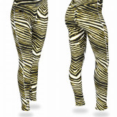 Wisconsin  Milwaukee Panthers BlackGold Zebra Legging