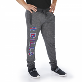 Buffalo Bills Dark Heather Gray Marled French Terry Jogger
