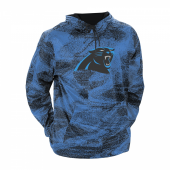 Carolina Panthers BlackFluorescent Blue Static Hood W Logo