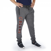 Chicago Bears Dark Heather Gray Marled French Terry Jogger