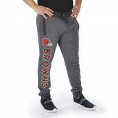 Cleveland Browns Dark Heather Gray Marled French Terry Jogger