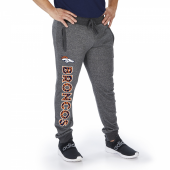 Denver Broncos Dark Heather Gray Marled French Terry Jogger