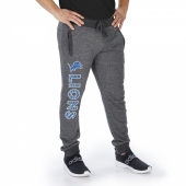 Detroit Lions Dark Heather Gray Marled French Terry Jogger
