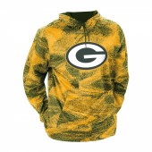 Green Bay Packers GreenGold Static Hood