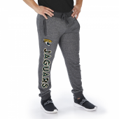 Jacksonville Jaguars Dark Heather Gray Marled French Terry Jogger