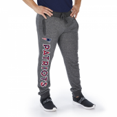 New England Patriots Dark Heather Gray Marled French Terry Jogger