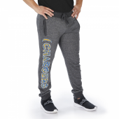 Los Angeles Chargers Dark Heather Gray Marled French Terry Jogger