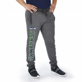 Seattle Seahawks Dark Heather Gray Marled French Terry Jogger
