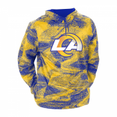 Los Angeles Rams Rams BlueYellow Static Hood W Logo