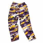 Minnesota Vikings Embroidered Logo Camo Pant