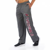 Arizona Cardinals Dark Heather Gray Poly Fleece Sweatpant