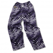 Baltimore Ravens BlackPurple Zebra Pant
