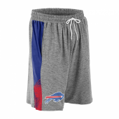 Buffalo Bills Gray Space Dye BlueRed Static Short