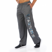 Carolina Panthers Dark Heather Gray Poly Fleece Sweatpant