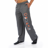 Chicago Bears Dark Heather Gray Poly Fleece Sweatpant
