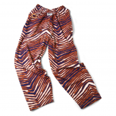 Chicago Bears Navy BlueOrange Zebra Pant