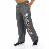 Cincinnati Bengals Dark Heather Gray Poly Fleece Sweatpant