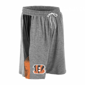 Cincinnati Bengals Gray Space Dye BlackOrange Static Short