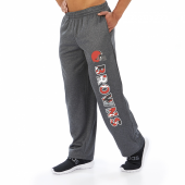 Cleveland Browns Dark Heather Gray Poly Fleece Sweatpant