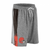 Cleveland Browns Gray Space Dye BrownFire Red Static Short