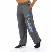 Detroit Lions Dark Heather Gray Poly Fleece Sweatpant