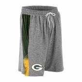Green Bay Packers Gray Space Dye GreenGold Static Short