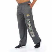 Jacksonville Jaguars Dark Heather Gray Poly Fleece Sweatpant