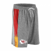 Kansas City Chiefs Gray Space Dye RedGold Static Short