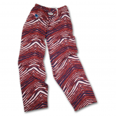 New England Patriots Navy BlueRed Zebra Pant