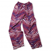 New York Giants New BlueRed Zebra Pant