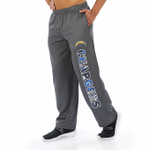 Los Angeles Chargers Dark Heather Gray Poly Fleece Sweatpant