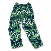 Seattle Seahawks Navy BlueAction Green Zebra Pants