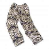 Los Angeles Rams Navy BlueMetallic Gold Zebra Pant