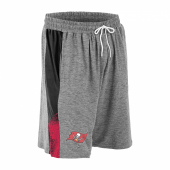 Tampa Bay Buccaneers Gray Space Dye BlackRed Static Short