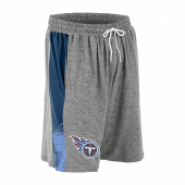 Tennessee Titans Gray Space Dye NavyLight Blue Static Short