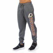 Washington Redskins Gray With Zebra Wordmark Poly Fleece Jogger