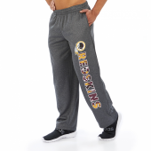 Washington Redskins Dark Heather Gray Poly Fleece Sweatpant