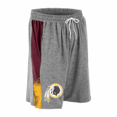 Washington Redskins Gray Space Dye MaroonGold Static Short
